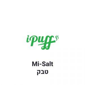 נוזלים למילוי סיגריות אלקלטרוניות Smoking Vapor Mi-Salt Tobacco סמוקינג ווייפור מי-סולט טבק