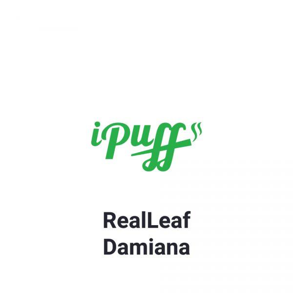 RealLeaf Damiana תחליף טבק