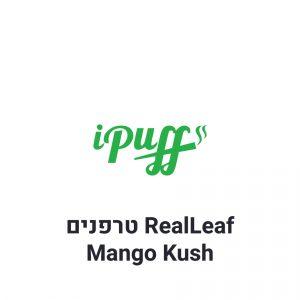 RealLeaf Mango Kush תחליף טבק טרפנים