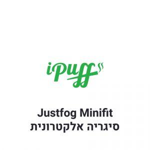 ג'סטפוג מיניפיט שחור - ערכה למתחילים Justfog Minifit Black Starter Kit