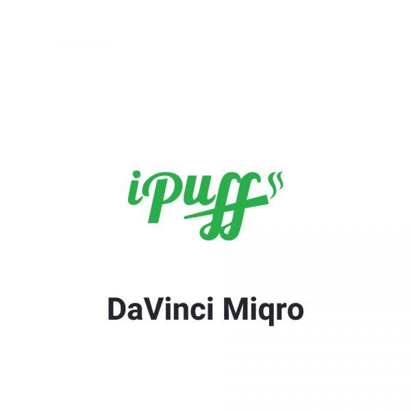 וופורייזר דה וינצ'י מיקרו - DaVinci Miqro Vaporizer
